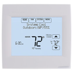 Wi-Fi VisionPRO Programmable, 3H/2C, Touchscreen Thermostat Product Image