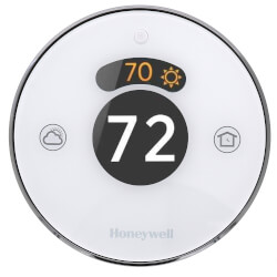 Lyric Round Smart Wi-Fi Thermostat - Builder Model Product Image