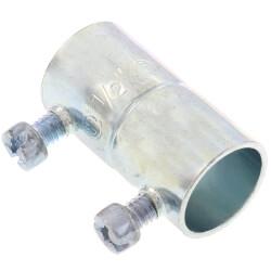 """1/2"""" Steel EMT Set Screw Coupling Product Image"""
