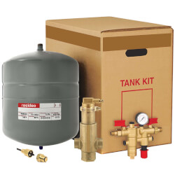 "NK300S Boiler Trim Kit w/ Check Valve, 1"" Sweat Air Eliminator, & 4.4 Gal. Expansion Tank Product Image"