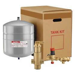 "Boiler Trim Kit w/ Check, <br>1-1/4"" NPT Air Eliminator<br> & 4.4 Gal. Expansion Tank Product Image"