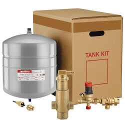 "Boiler Trim Kit w/<br>1"" Sweat Air Eliminator<br> & 7.6 Gal. Expansion Tank Product Image"