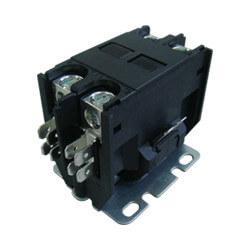 2 Pole DP Contactor, 208/240 Volt Coil, 30 Amp Product Image