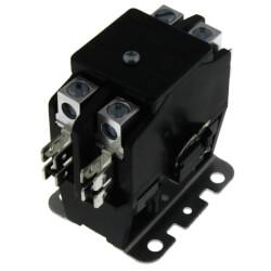 2 Pole DP Contactor, 120 Volt Coil, 40 Amp Product Image