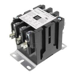 3 Pole DP Contactor, 120 Volt Coil, 30 Amp Product Image