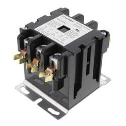 3 Pole DP Contactor, 24 Volt Coil, 50 Amp Product Image