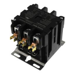 3 Pole DP Contactor, 120 Volt Coil, 50 Amp Product Image