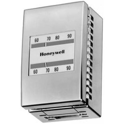 Pneumatic Single Temp Reverse Acting Thermostat w/ Satin Chrome Cover Product Image
