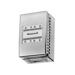 Pneumatic Thermostat Reverse Acting, Cooling, (includes beige cover) Product Image