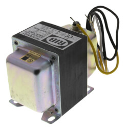 Transformer w/ Circuit Breaker,Single Hub, Foot Mount, 100VA, 120-24 Vac Product Image