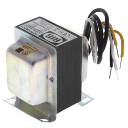 Transformer, Foot & Single Threaded Hub Mount, 50VA, 120 to 24 Vac Product Image