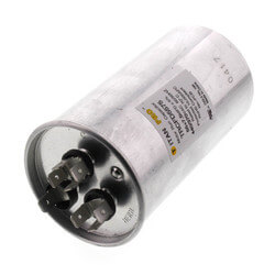 55/7.5 MFD Round Dual Motor Run Capacitor (440/370V) Product Image