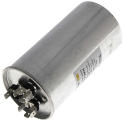 60/7.5 MFD Round Dual Motor Run Capacitor (440/370V) Product Image