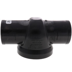 """2"""" TESTRITE No-Hub PVC DWV Test/Cleanout Tee with Plug Product Image"""