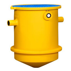 """Trapzilla Solids Separator, 4"""" Inlet/Outlet, 95 Gallon Capacity (150 GPM) Product Image"""