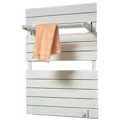 "16"" x 26"" TW9 Hydronic Omnipanel Towel Radiator (White) Product Image"