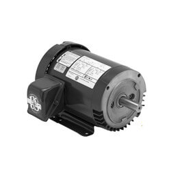 3-Phase ODP General Purpose TEFC Motor (208-230/460V, 2 HP, 1800 RPM) Product Image
