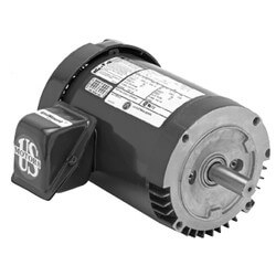 3-Phase Commercial Pump Motor (208-230/ 460V, 3/4 HP, 1800 RPM) Product Image