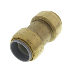 "3/4"" SharkBite<br>Polybutylene Conversion<br>Coupling (Lead Free) Product Image"