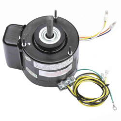 "5"" Totally Enclosed Fan/Blower Motor (115V, 1075 RPM, 1/8 HP) Product Image"