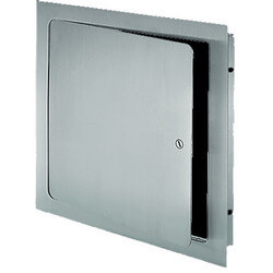 """12"""" x 12"""" Universal Access Door w/ Cylinder Lock  (Stainless Steel) Product Image"""