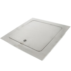 """8"""" x 8"""" Universal Access Door (Stainless Steel) Product Image"""