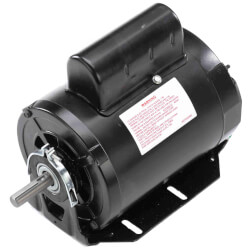 "6-1/2"" 1-Speed Evap. Cool Motor (115/208-230V, 1725/1425 RPM, 1 HP) Product Image"