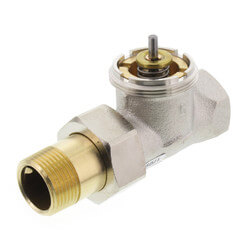 "3/4"" Straight Valve for High Capacity Radiator Product Image"