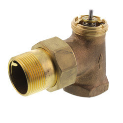 "1-1/4"" Angle Valve for High Capacity Radiator Product Image"