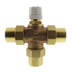 "1-1/4"" 3-Way Mixing Valve (Female Sweat Union) Product Image"