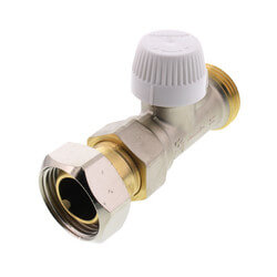 "3/4"" Horizontal Valve For Standard Capacity Radiator Product Image"