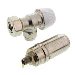 1/8 One-Pipe Steam Thermostatic Radiator Valve, Inc. Air Vent Product Image