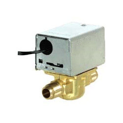 """1/2"""" Flare Connection Zone Valve (208v) Product Image"""