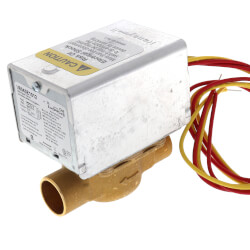 "3/4"" Sweat Zone Valve<br>w/ 18"" Leads Product Image"
