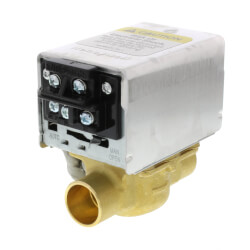 "3/4"" Sweat Zone Valve w/ Terminal Block connection Product Image"