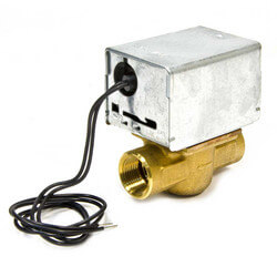 "3/4"" NPT Zone Valve N/O<br>no Manual opener Steam<br>Apps. (24V) Product Image"