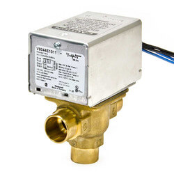 "3/4"" Sweat 3-Way<br>Zone Valve, port A N/C<br>w/ end switch (24V) Product Image"