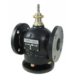 """5"""" Flanged Cast Iron Mixing Valve (290 cv) Product Image"""