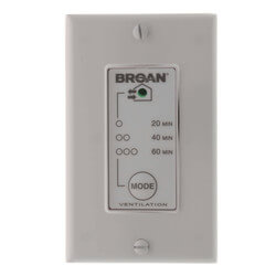 Wall Control w/ Timer for ERV and HRV Units Product Image