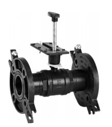 "3"" 2-Way Flanged Globe Valve, Water or Glycol (100 Cv) Product Image"