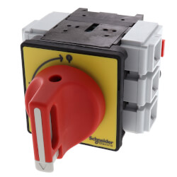 TeSys Vario Emergency Stop Switch Disconnect, 63A, On Door Product Image