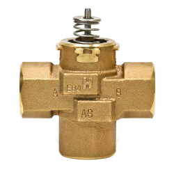 "1/2"" 3-Way Sweat VC Valve Assembly (.7 Cv) Product Image"