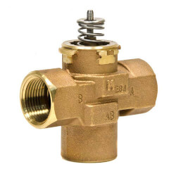 "1-1/4"" 3-Way Female NPT VC Valve Assembly<br>(8.3 Cv) Product Image"
