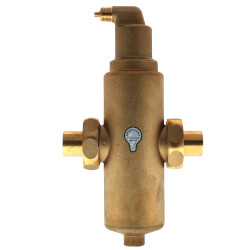 "1"" Spirovent Junior Brass Air Eliminator/Dirt Separator (Sweat) Product Image"