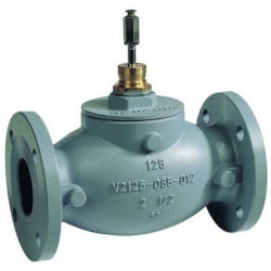 "2-1/2"" Pressure Balanced Flanged Globe Valve<br>w/ Linear Flow (70 Cv) Product Image"