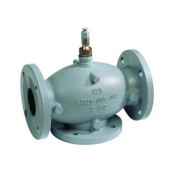 "5"" 3-way Diverting Valve<br>w/ Linear Flow (Flanged) Product Image"