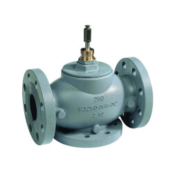 """6"""" Three Way Flanged Mixing Valve w/ Equal Percentage Flow Product Image"""