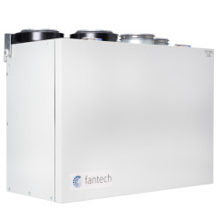 "VHR Series Ventilator w/ WinterGuard Recirculation Defrost, 5"" Top Ports, 70 CFM Product Image"