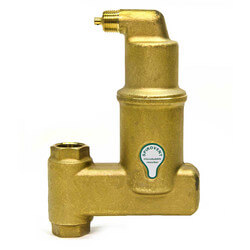 "3/4"" Spirovent Jr. High Temperature Vertical Air Eliminator (Threaded) Product Image"