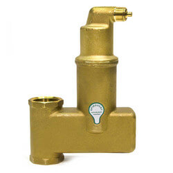"1-1/4"" Spirovent Jr. Vertical Air Eliminator (Threaded) Product Image"